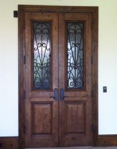 Beautiful Double Doors On Inclinator Elevator